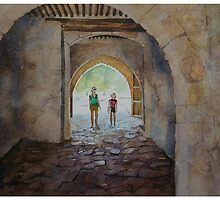 Archway, Cyprus by Andrew Lyon