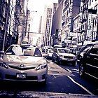 New York Traffic by Kenny Castle