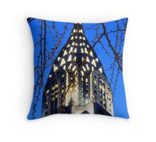 Chrysler Building: NYC Throw Pillow