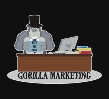 GORILLA MARKETING by thedisillusion