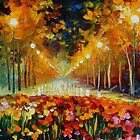 AUTUMN CALENDAR BY LEONID AFREMOV by Leonid  Afremov