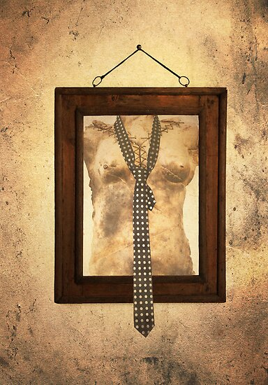 Woman Torso In Frame by Madeleine Forsberg