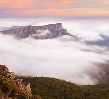 Redmans Bluff, Grampians National Park, Australia by Michael Boniwell