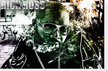 Street Phenomenon - Rick Ross by TheDigArtisT