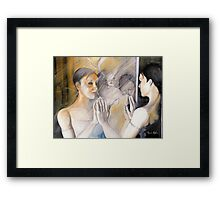 Feel so different  Framed Print