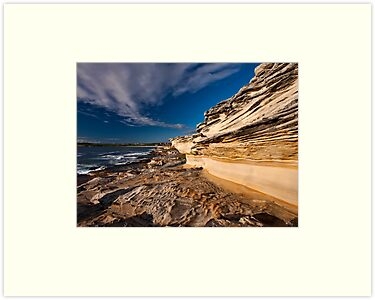 Sculptured by Nature - Maroubra Beach, NSW by Malcolm Katon