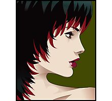 Vector Profile Photographic Print