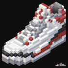 3D 8-bit Air Jordan 3 by 9thDesignRgmt