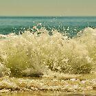 Waves at Sellicks  by corrinalisa