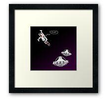 UFO - Interceptor (alternative version) Framed Print