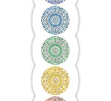 seven chakras Sticker