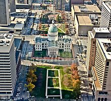 Aerial view of St. Louis by derejeb