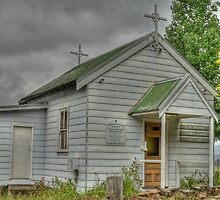 St Josephs Catholic Church, Megalong Valley, NSW, Australia by Adrian Paul