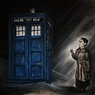 Martha and the TARDIS by demoninblue