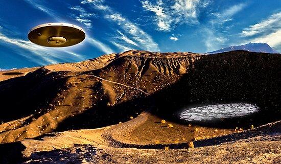 Illegal  Aliens  Landing  near Area 51 by gwarn