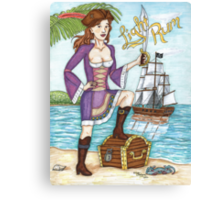Light Rum Pirate ver 2 Canvas Print