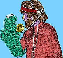 Jim Henson and Kermit by CultureCloth