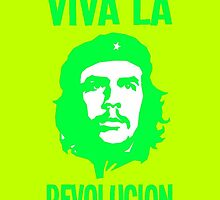 CHE-VIVA LA REVOLUCION-COLOURS by OTIS PORRITT