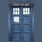 Doctor who Inspired Tardis Ipod Cover by kevinlartees
