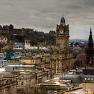 Calton Hill View by Tom Gomez