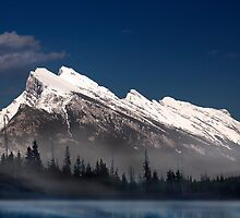 Mount Rundle by Alex Preiss