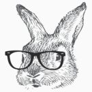 my cool rabbit illustration shirt by Kanjiz by derickyeoh