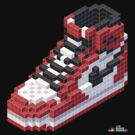 3D 8-bit Air Jordan 1 by 9thDesignRgmt