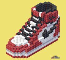3D 8-bit Air Jordan 1 Kids Clothes