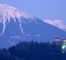 Mountain backdrop by Ian Middleton