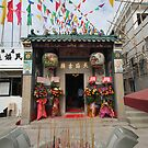 Tin Hau Temple, Shek O, Hong Kong by David Clarke