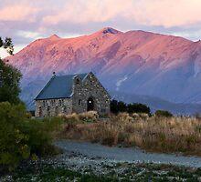 Church of the Good Shepherd, Lake Tekapo by Martin Canning