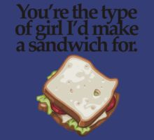 SANDWICH  for GIRL (LIGHT) by peter chebatte