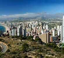 Benidorm, Costa Blanca, Spain by rodsfotos
