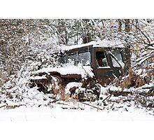 My Dad's Jeep 2 Photographic Print