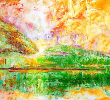Orange Sky by Josie Duff