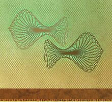Pisces Greeting Card by Janet Antepara