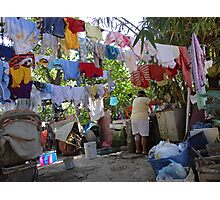 Wash Day - Dia De Lavado Photographic Print