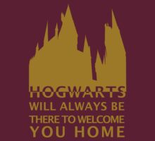 Hogwarts Will Always Be There To Welcome You Home (Gryffindor Gold) by carmencaboodles