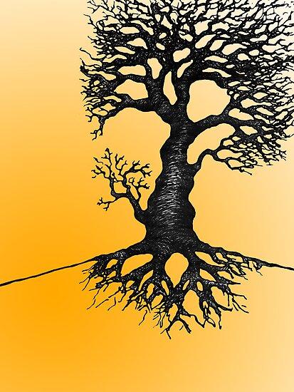 The Biro Tree by Nik Usher
