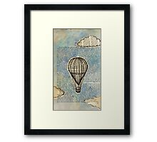 Drifting Slowly Framed Print