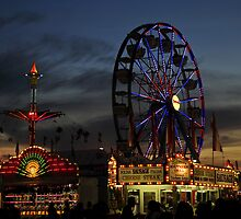Dusk over the Fair by David Lee Thompson