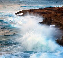 Kauai Sea Explosion by DawsonImages