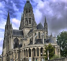 The Bayeux Cathedral (1) by Larry Lingard-Davis