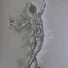 Study of a dancer by David  Calleja
