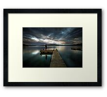 Put Yourself in the Picture Framed Print