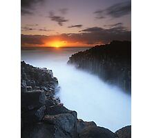 """Basalt Mist"" ∞ Fingal Head, NSW - Australia Photographic Print"