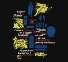Sherlock Holmes quotes and much more by bomdesignz