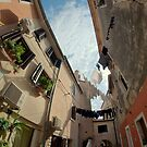 Old Town on Krk, Croatia by Hugh Chaffey-Millar