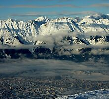 Innsbruck, Austria from Patscherkofel by Hugh Chaffey-Millar