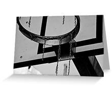 Basket Frame Greeting Card